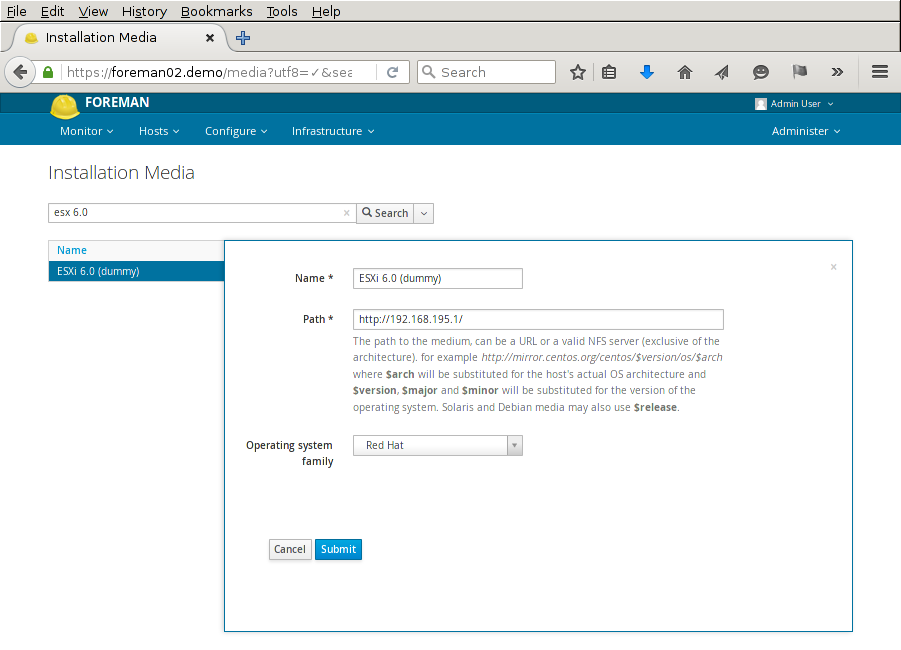 Esxi Rollout With Foreman
